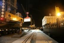 ورود سومین کشتی حامل محموله گندم ترانزیتی کشور هند به افغانستان به بندر چابهار