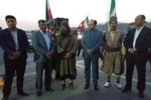 کاروان اتحاد اقوام ایرانی مورد استقبال قرار گرفتند