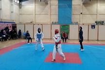رقابتهای کاراته دانشجویان دختر دانشگاه آزاد در سمنان آغاز شد