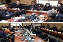 جلسه بررسی طرح تفصیلی شهر رشت برگزار شد