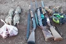 سه شکارچی غیرمجاز در شهرستان کوثر دستگیر شدند