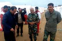 500 نیروی نظامی و مردمی به کمک سیل زدگان شوش شتافتند
