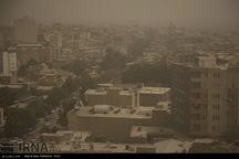 هوای 5 شهر استان کرمانشاه بحرانی است