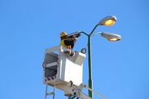 استفاده از لامپهای پرمصرف برای روشنایی معابر قم هزینه بالای تعویض، بهانه شرکت برق