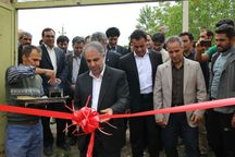 سه خانه ورزش روستایی در کنگاور افتتاح شد
