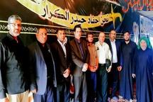 بازدید سرپرست فرمانداری شهرستان حمیدیه از نحوه بدرقه زائرین اربعین حسینی