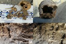 کشف قبرستان تاریخی با قدمت حدود 2 قرن در فسا