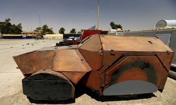 عکس/ خودروهای داعش