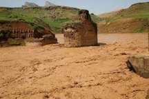 خساراتی که از بارندگی به آثار باستانی وارد می شود