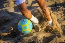 حریفان موج گناوه در رقابت های فوتبال ساحلی جوانان کشور مشخص شدند