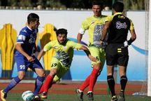 تساوی تیم های کرمانی در هفته ششم لیگ دسته یک فوتبال