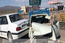 پنج نفر در سوانح رانندگی در سبزوار مجروح شدند