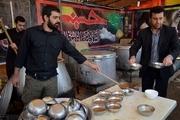 توزیع روزانه هشت هزار پرس غذای گرم در شلمچه عراق