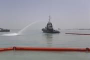 آلودگی نفتی اسکله بندر بوشهر پاکسازی شد
