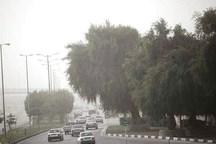 باد و غبار در راهند    ایلام جمعه توفانی در پیش دارد