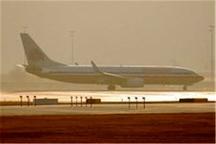 بازگشت سه پرواز به مقصد فرودگاه اهواز به علت گرد و خاک