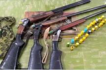 سه شکارچی متخلف در قزوین دستگیر شدند