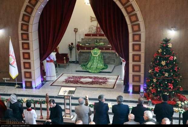 دومین کلیسای تاریخی جهان در ارومیه میزبان دیرینه جشن میلاد مسیح (ع)