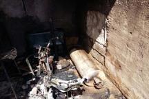 انفجار و آتش سوزی یک خانه در شوشتر پنج مصدوم برجا گذاشت