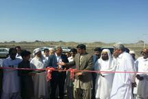 یک طرح بخش کشاورزی به مناسبت هفته دولت در نیکشهر افتتاح شد