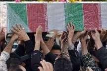 پیکر پاک 6 شهید حادثه تروریستی میرجاوه در مشهد تشییع شد