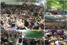 حاشیه های سفر انتخاباتی حسن روحانی به ساری