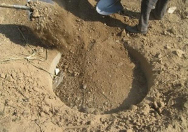 168 حلقه چاه غیرمجاز در شهرستان هریس پر شد