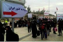 بازگشت زائران به وطن از مرز مهران شتاب گرفت