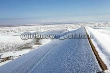 کویری که برفی شد! + عکس