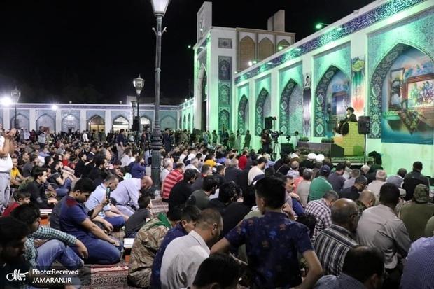 مراسم شب قدر در حرم حضرت زینب(ع)