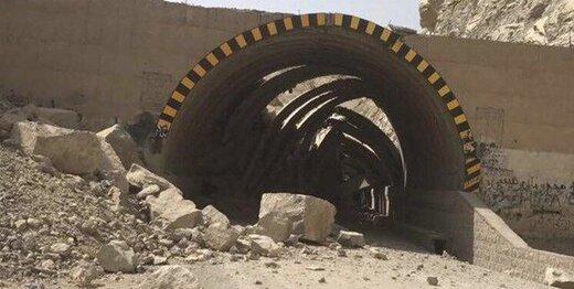 ریزش مسیر ورودی تونل زره شهرستان کیار خسارت جانی ومالی نداشته است