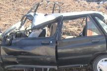 واژگونی پراید در قزوین یک کشته برجای گذاشت