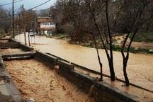 طغیان رودخانه در اقلید خسارت به همراه داشت