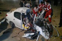 تصادف در کهگیلویه راننده موتورسیکلت را به کام مرگ کشاند