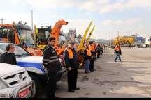 1430 راهدار و پلیس در طرح زمستانی آذربایجان شرقی مشارکت دارند