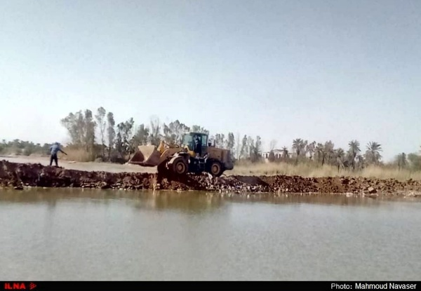 گزارش تصویری وضعیت آبادان و خرمشهر پس از موج اول بارندگی سیل آسا
