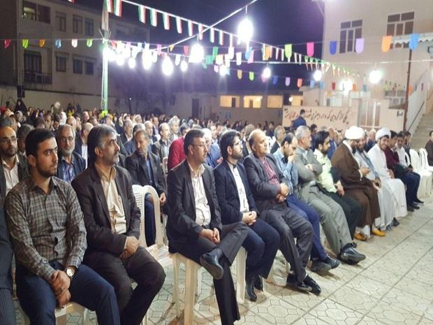 جشن بعثت پیامبر اسلام (ص) در تالش و آستارا برگزار شد