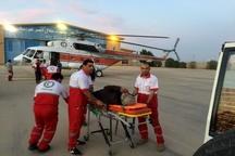 نجات 4 فرد مفقود شده در کوه قارون توسط امداد هوایی