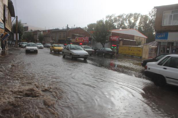 میانگین بارش باران در لرستان به ٨٥ میلیمتر رسید
