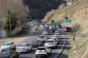 آخرین وضعیت جوی و ترافیکی محورهای کشور  بارش باران در جادههای خراسان رضوی