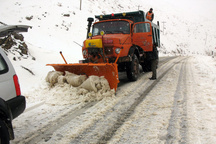 برف روبی بیش از 4200 کیلومتر از راههای  استان مازندران