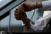 باند سارقان منزل درقم دستگیر شدند