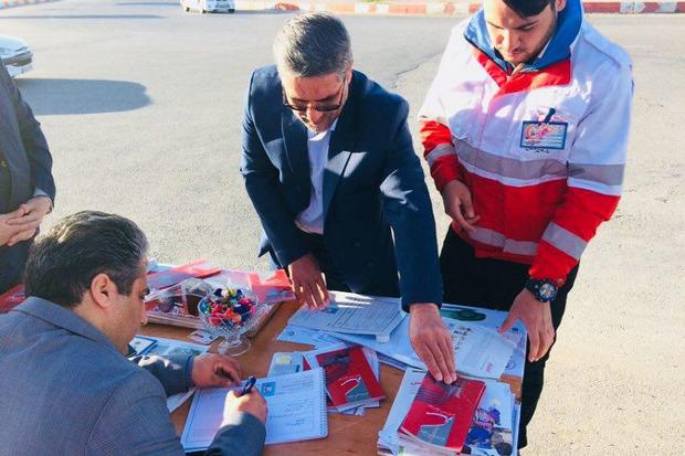 پنج هزار مسافر نوروزی از خدمات هلال احمر خمین بهره مند شدند