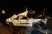 واژگونی خودرو در جنوب خراسان قربانی گرفت