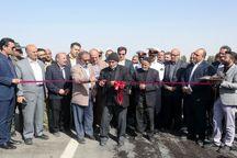 جاده شهرک عمار یاسر به طرق در مشهد به بهره برداری رسید