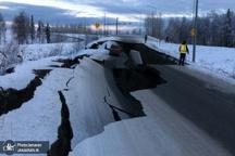 خسارات گسترده زلزله آلاسکا+ تصاویر