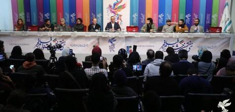 """دعوای مجری و خبرنگار در نشست خبری """"متری شش و نیم"""""""