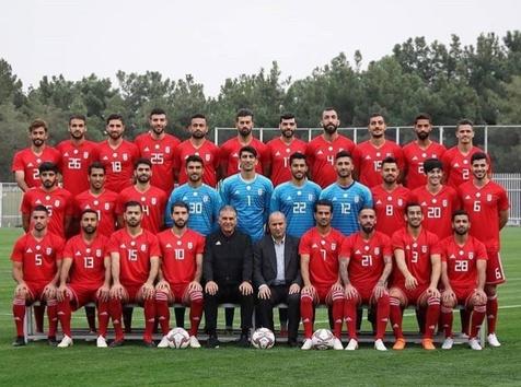 عکسی از تیم ملی فوتبال در آستانه جام ملتها