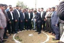 عملیات اجرایی 2 طرح خدماتی رفاهی در شهر الوان شوش آغاز شد