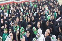 مادران گناوه ای به یاد شهید ۶ ماهه دشت کربلا عزاداری کردند